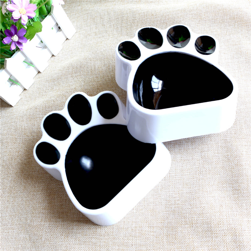 Paw Footprint Dog Bowl