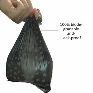 Dog Waste Bag With Paw Print