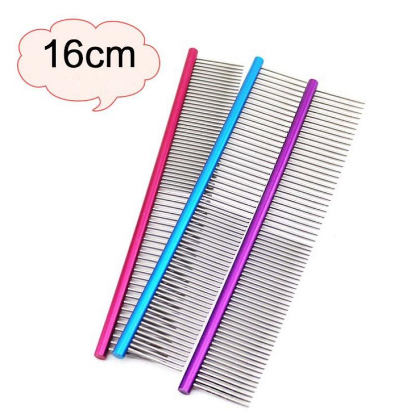 Professional Steel Hair Cleaning Trimmer Dog Comb