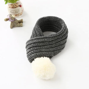 Warm Knitted Dog Scarf