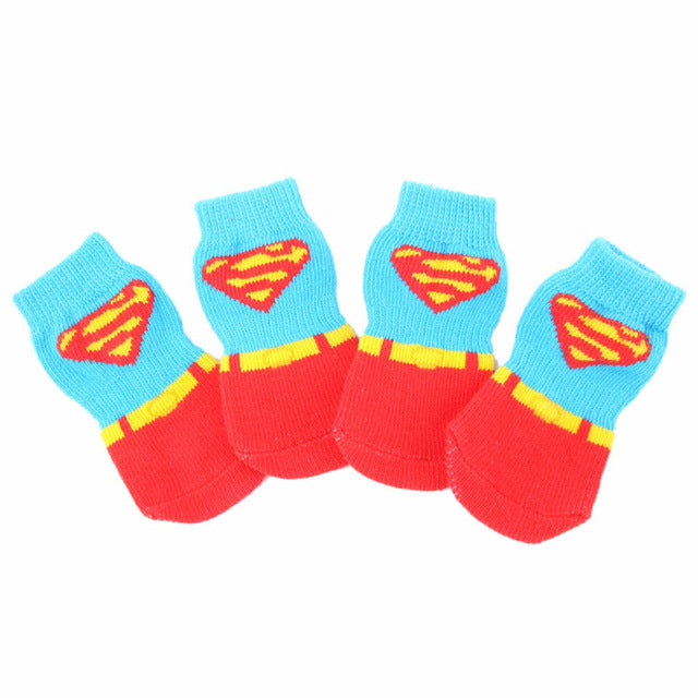 Anti Slip Cotton Soft Dogs Socks