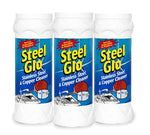 Steel Glo Stainless Steel and Copper Cleaner Three 14 oz Cans