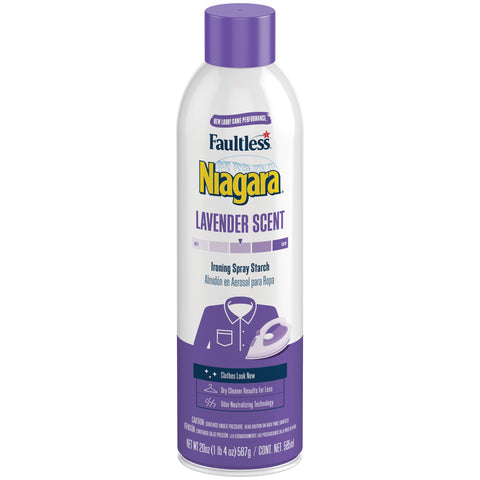 Faultless Niagara Original Hold Ironing Enhancer Spray Starch Lavender Scent