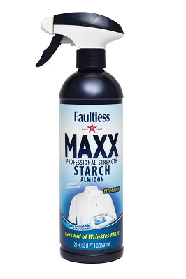 Faultless Maxx Starch Maximum Strength Body Twelve 20 oz Trigger Bottles