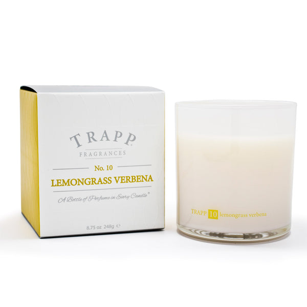 Ambiance Collection - No. 10 Lemongrass Verbena - 8.75oz. Poured Candle