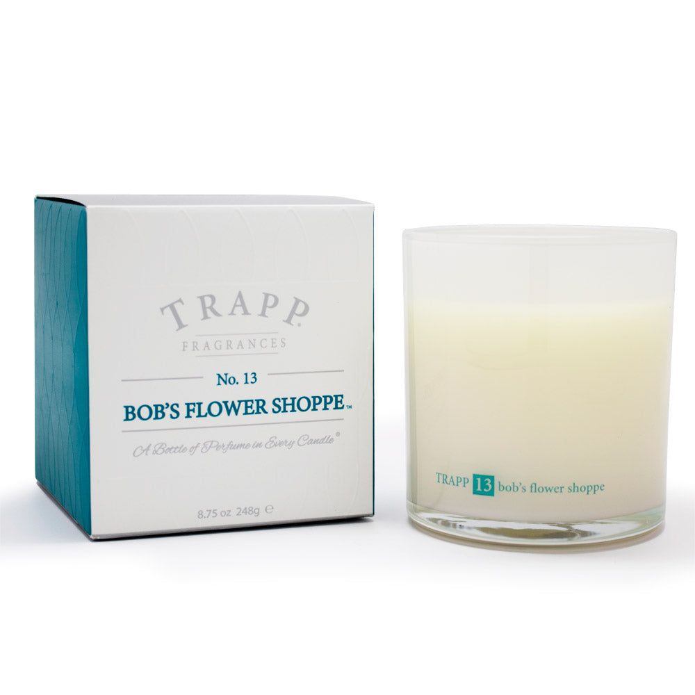 Ambiance Collection - No. 13 Bob's Flower Shoppe - 8.75oz. Poured Candle