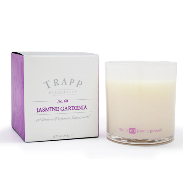 Ambiance Collection - No. 60 Jasmine Gardenia - 8.75oz. Poured Candle