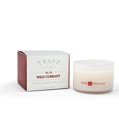 Ambiance Collection - No. 24 Wild Currant - 3.75oz. Poured Candle