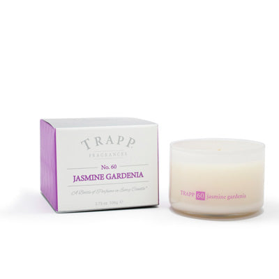 Ambiance Collection - No. 60 Jasmine Gardenia - 3.75oz. Poured Candle