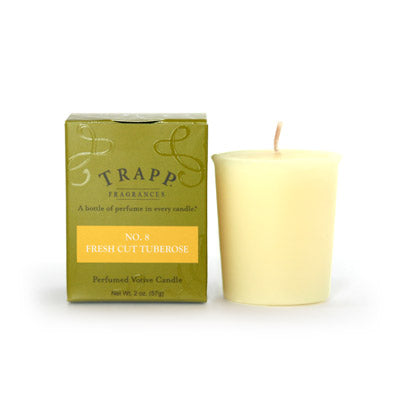 No. 8 Fresh Cut Tuberose - 2oz. Votive Candle