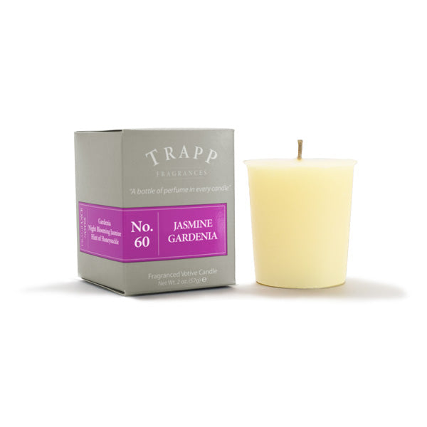 No. 60 Jasmine Gardenia - 2oz. Votive Candle