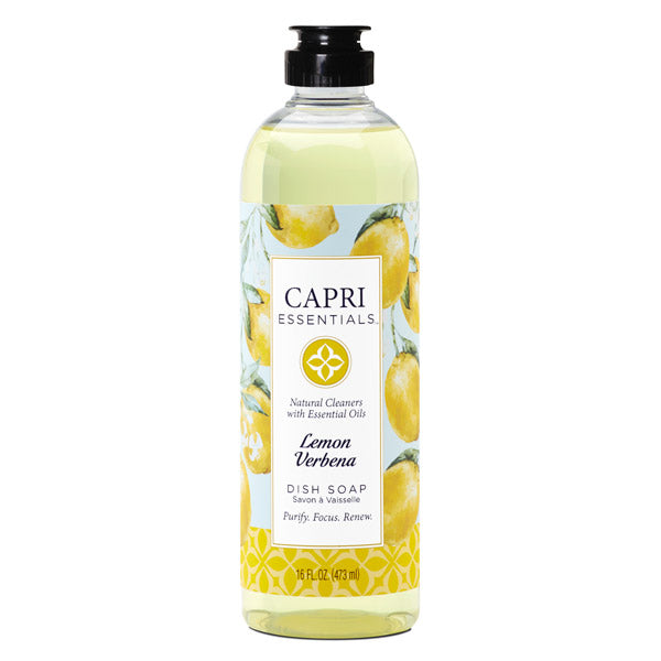 Capri Essentials Lemon Verbena Dish Soap