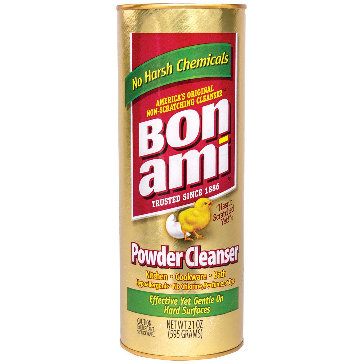 Bon Ami Powder Cleanser 21 oz 24 cans