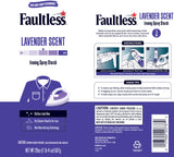 Faultless Lavender Ironing Enhancer Spray Starch