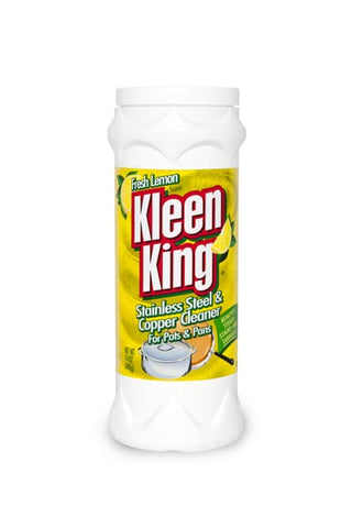 Lemon Kleen King for Stainless Steel and Copper