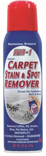 Lifter 1 Instant Carpet Stain Remover Two 18 oz Cans