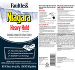 Faultless Niagara Heavy Hold Ironing Enhancer Spray Starch