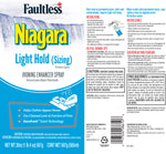 Faultless Niagara Light Hold (Sizing) Ironing Enhancer Spray