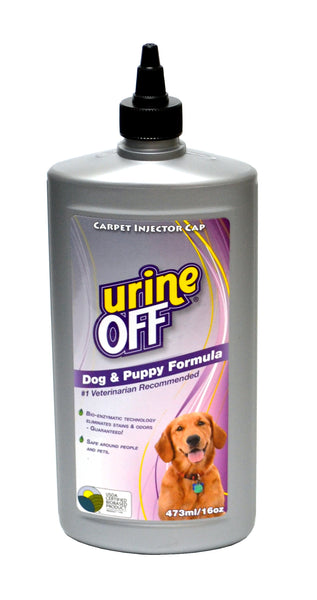 Urine Off 16oz Stain and Odor Remover: Dog& Puppy Formula