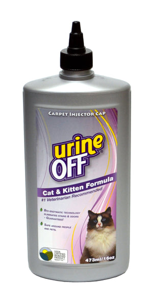 Urine Off 16oz Stain and Odor Remover: Cat & Kitten Formula