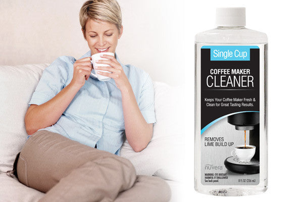 Nuvera 8oz Single cup Coffee Maker Cleaner