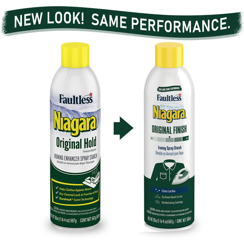 Faultless Niagara Original Hold Ironing Enhancer Spray Starch