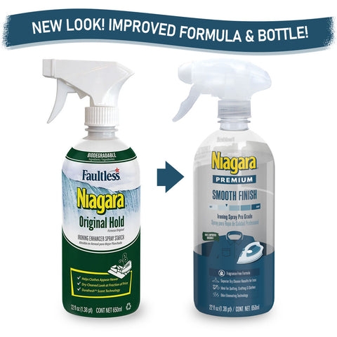 Niagara Premium Smooth Finish Ironing Spray Pro Grade