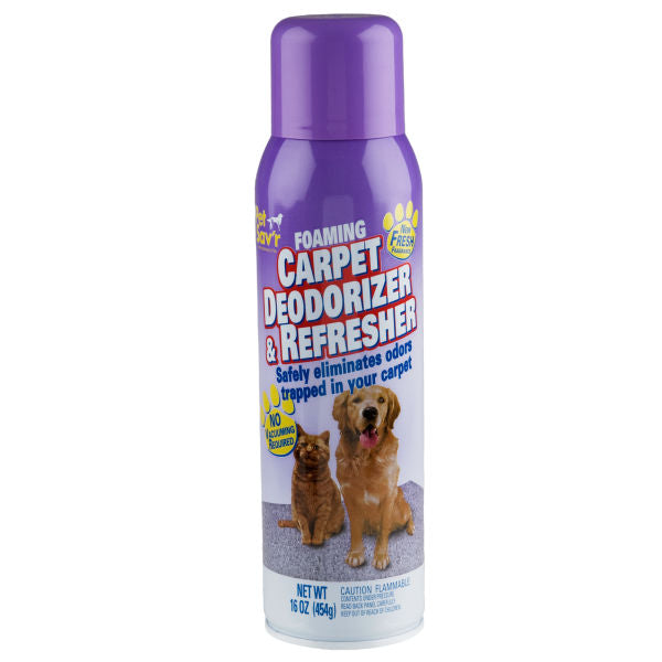 Pet Sav'r Foaming Carpet Deodorizer & Refresher