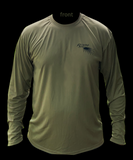 NEW-FL Camo Ultra Performance Longsleeve - Olive