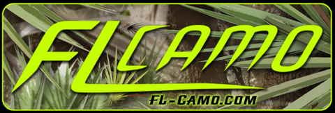 Large FL CAMO sticker - Matte finish