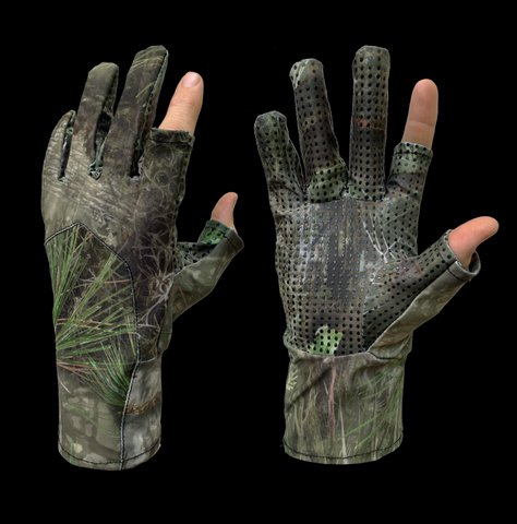 FL Camo Hammock Glove (exposed index and thumb)-