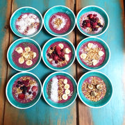Teens make smoothie bowls as they learn about nutrition