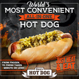 Den's Hot Dogs with Relish & Mustard (16 Pack)