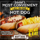 Den's All-in-One Hot Dogs with Chili Cheese, Pineapple Chutney and Kickin Chicken Sandwiches (28 Pack)