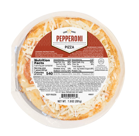 Personal Microwaveable Pepperoni Pizza, 7.1 oz (1 Pack)