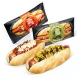 Den's Hot Dogs with Chili & Cheese and Relish & Mustard (16 Pack)
