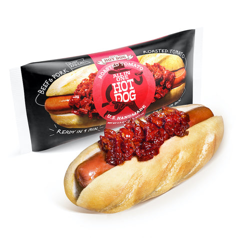 Den's Hot Dogs with Ketchup