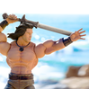 Conan The Barbarian ULTIMATES! Iconic Pose Figure