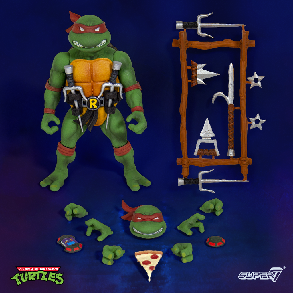 Super 7 Teenage Mutant Ninja Turtles Ultimate Wave 1 Jeu Complet