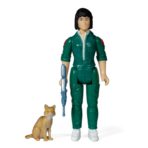 Alien ReAction Figure Wave 3 - Ripley with Jonesy (Blue Card)