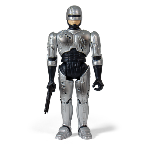 Robocop ReAction Figure - Robocop Battle Damaged