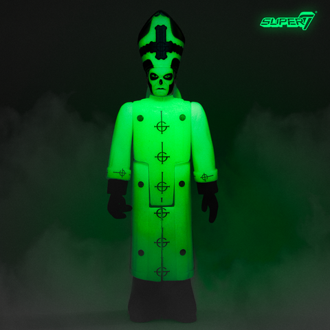 Ghost ReAction Figure - Papa Emeritus III (Glow in the Dark)