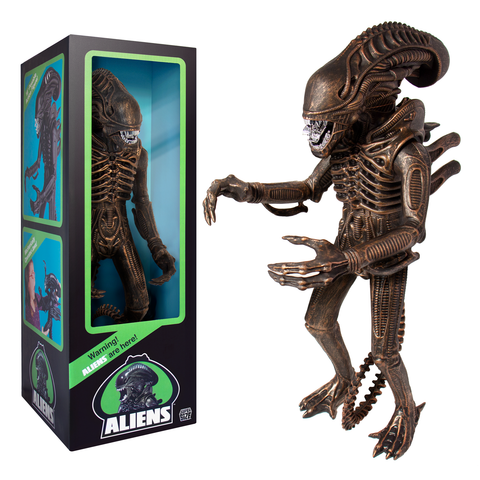 "Aliens Supersize - Warrior 18"" Classic Toy Edition (1986) (Bronze)"