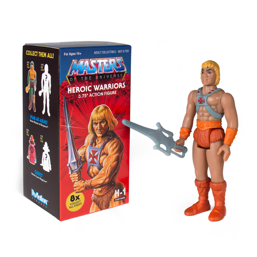 "2019 Super7 ReAction Masters of the Universe MANTENNA 4/"" Inch Figure MOC"