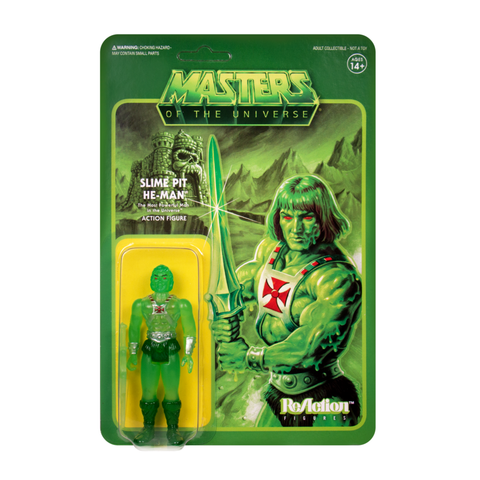 Master of the Universe ReAction Figure - He-man (Slime Pit)