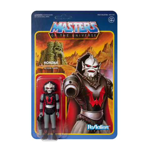 Master of the Universe ReAction Figure - Hordak (Grey)