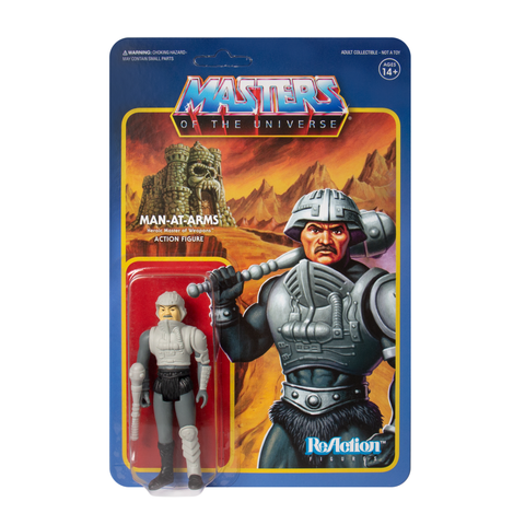 Master of the Universe ReAction Figure - Man-At-Arms (Movie Accurate)