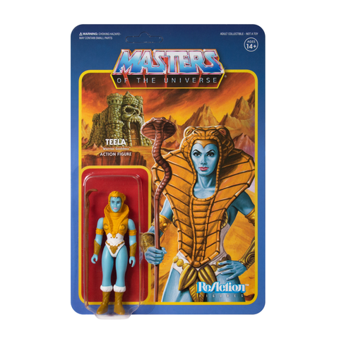 Master of the Universe ReAction Figure - Teela (Shiva)