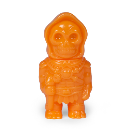 Masters of The Universe Micro Vinyl- Skeletor (Orange)
