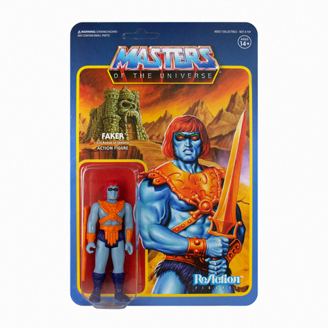 Master of the Universe ReAction Figure - Faker (Leo)